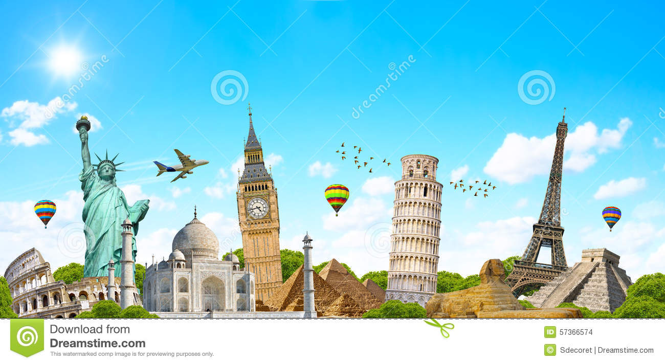 famous monument of the world stock photo image 57366574