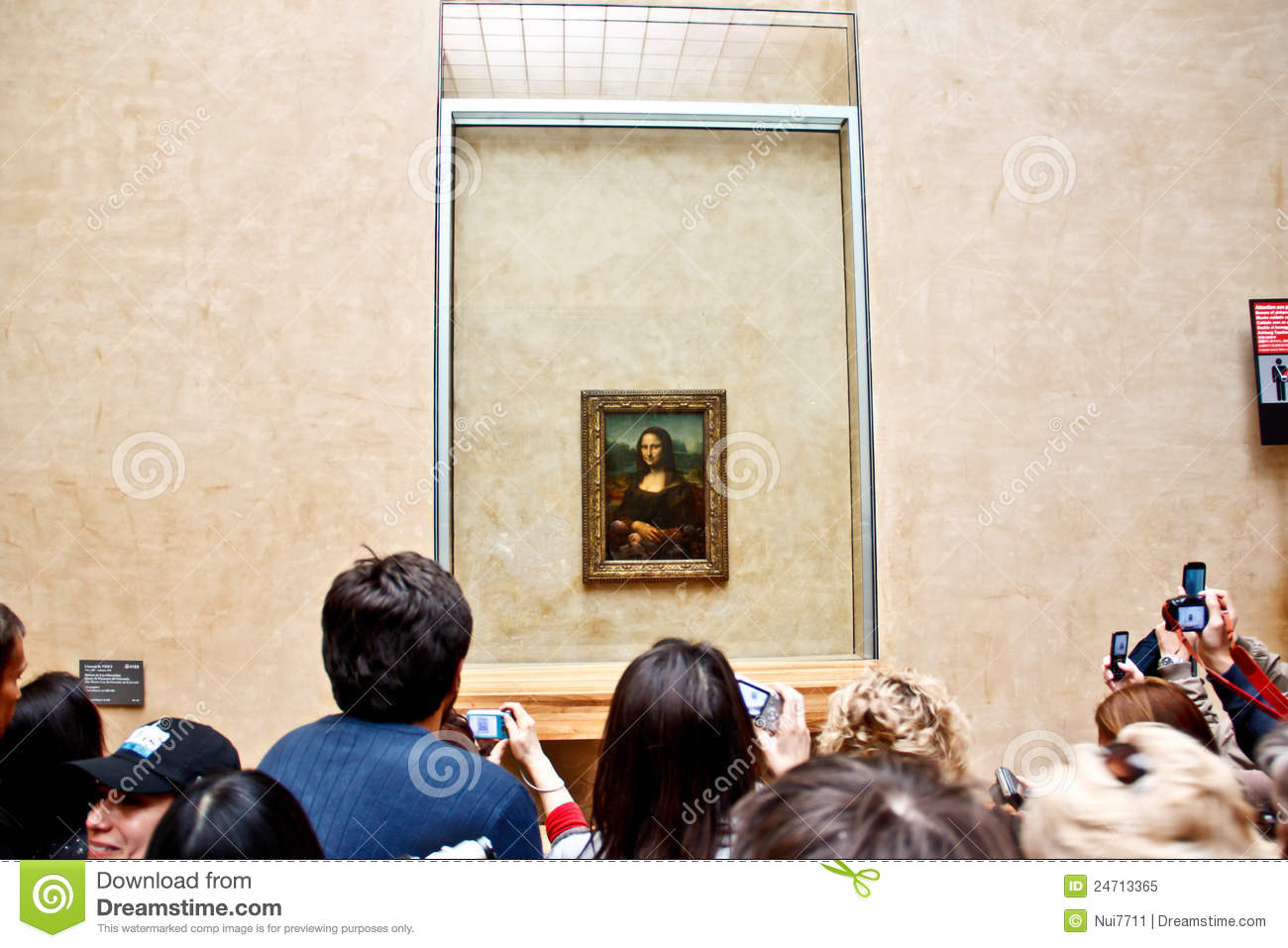 The famous painting Monalisa 2