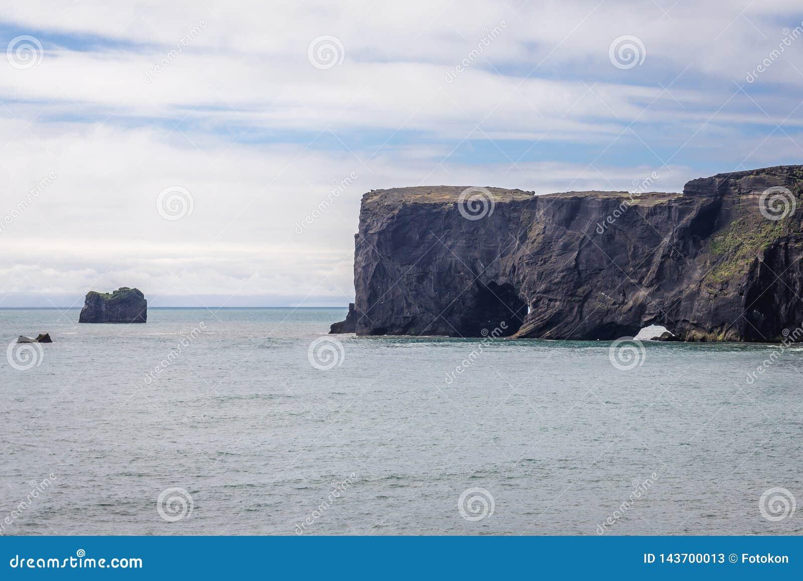 Cape Dyrholaey in Iceland