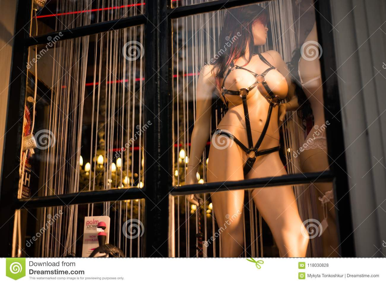 Free Sex Famous famous sex shops in the amsterdam stock photo - image of