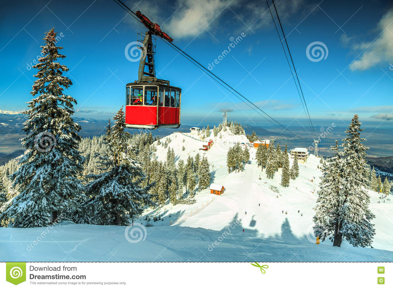 On the ski resorts of the Carpathians: a selection of sites