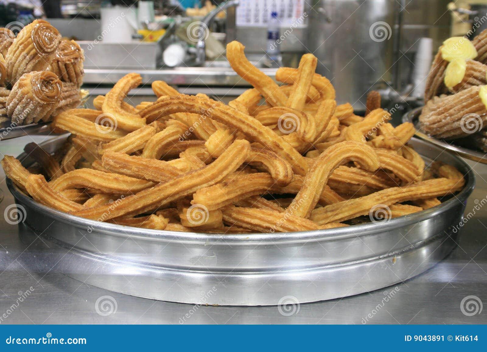 Famous Spanish Dessert - Churros Stock Image - Image: 9043891