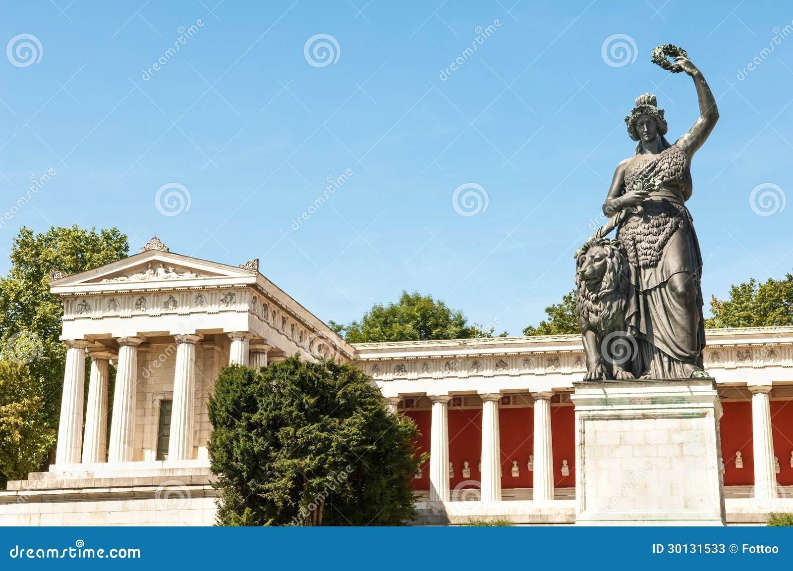 Statue Of Bavaria Stock Photos