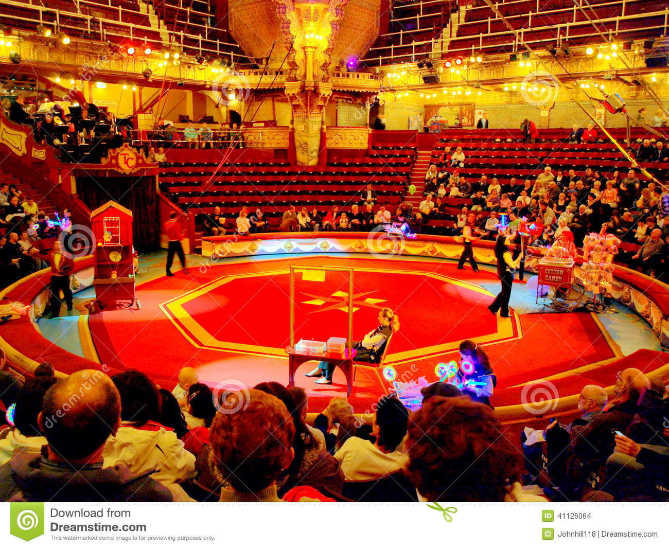 The Famous Tower Circus Blackpool Editorial Stock Image