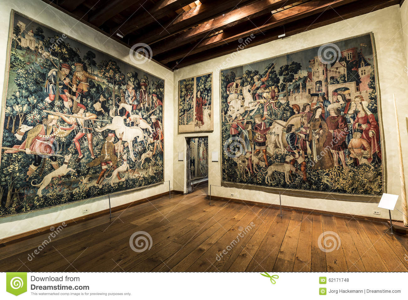 Famous Unicorn Tapestries In The Cloisters Museum In New York - Famous art museums in usa
