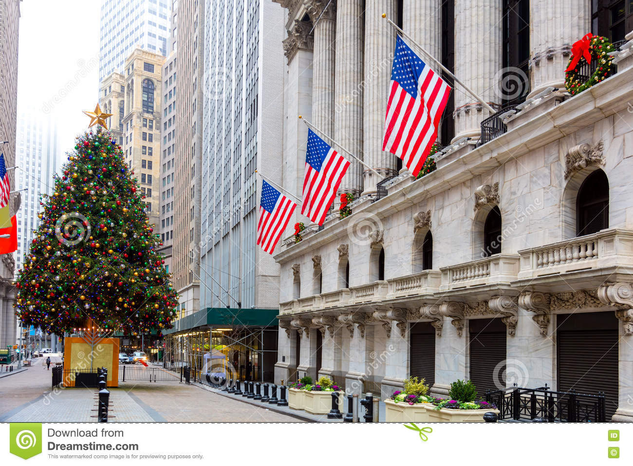 Famous Wall Street In New York City, NYC, USA Editorial Photo ...