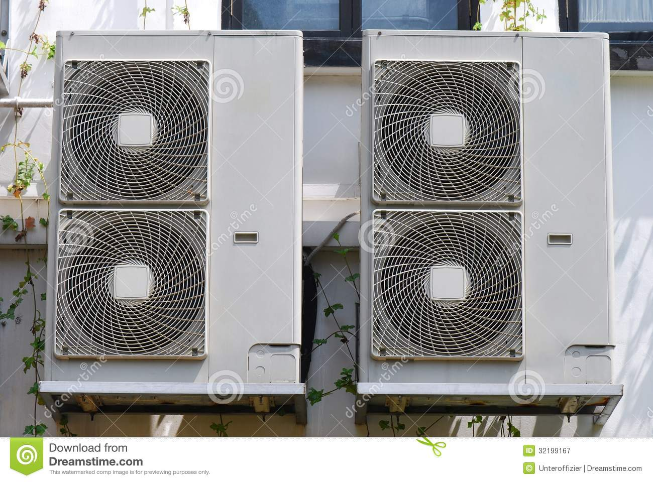 Fan Coil Units Royalty Free Stock Photography Image