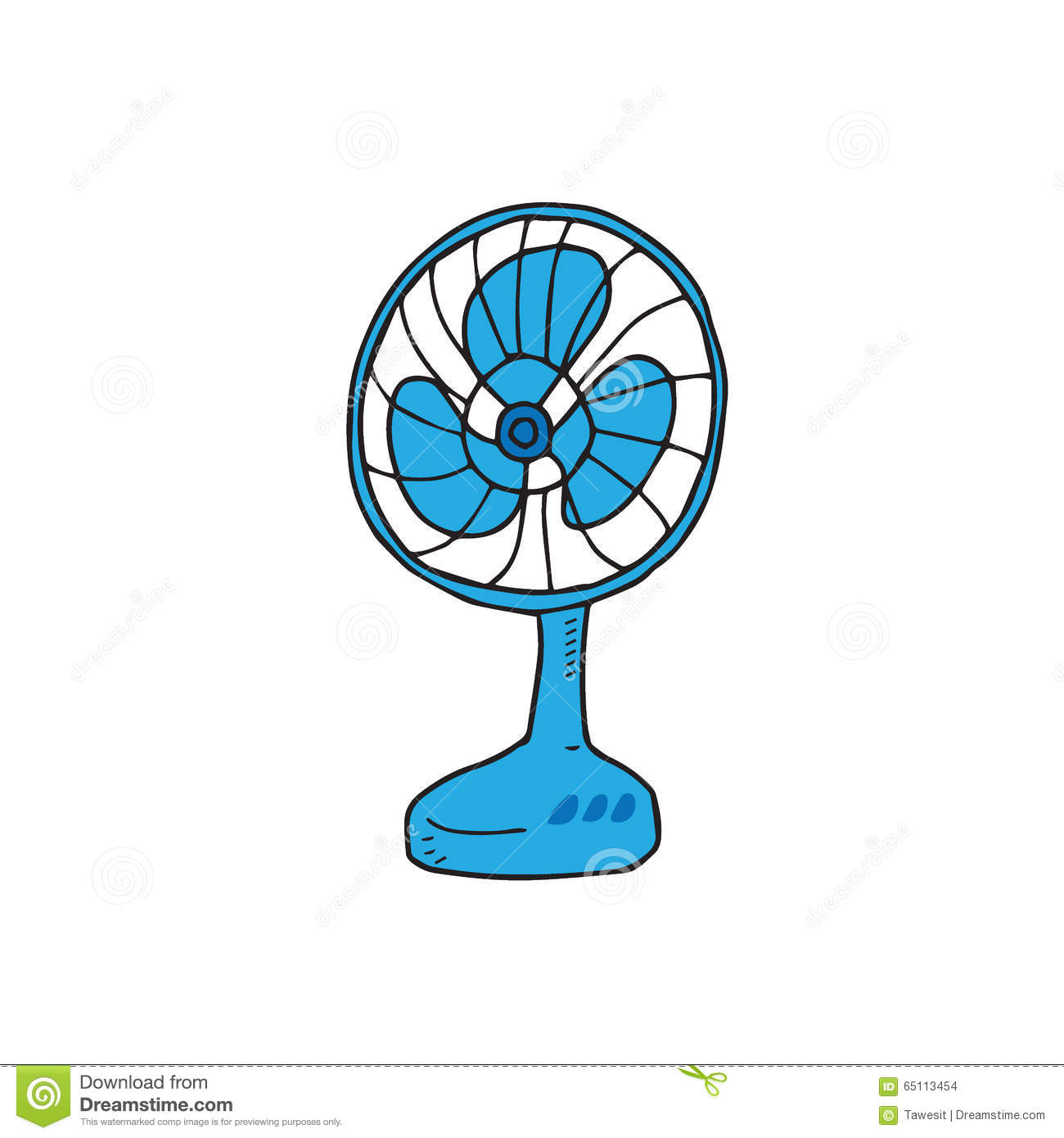 Electronic Fan Royalty Free Stock Photography
