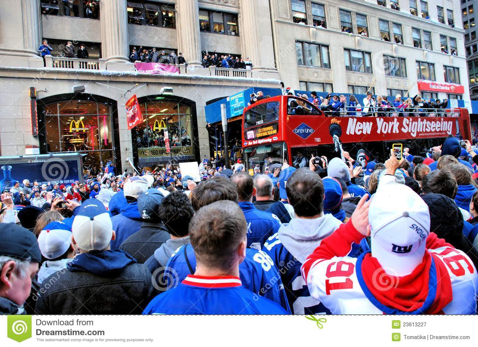 Fan giganty nowy York