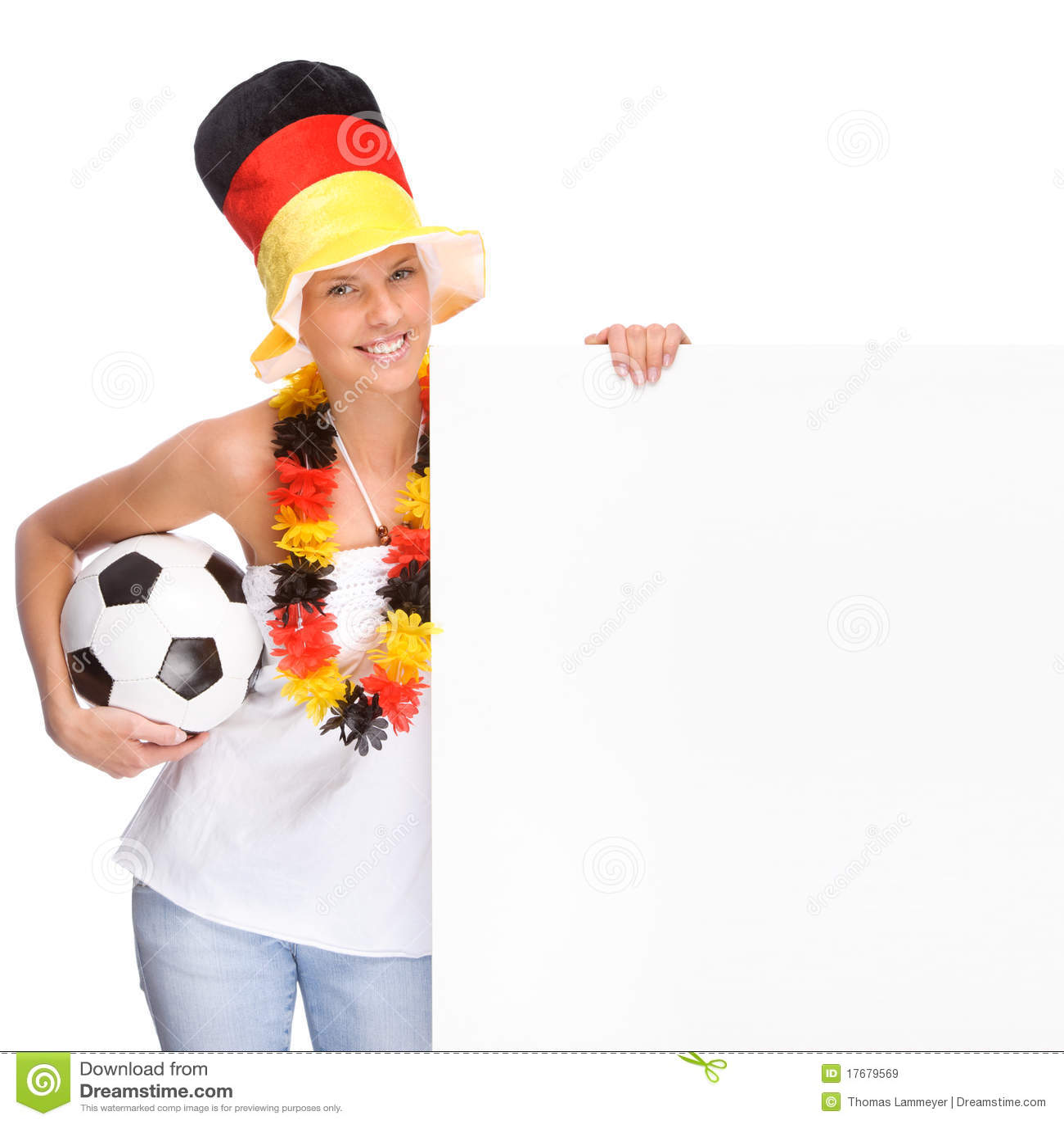 Fan niemiec piłka nożna