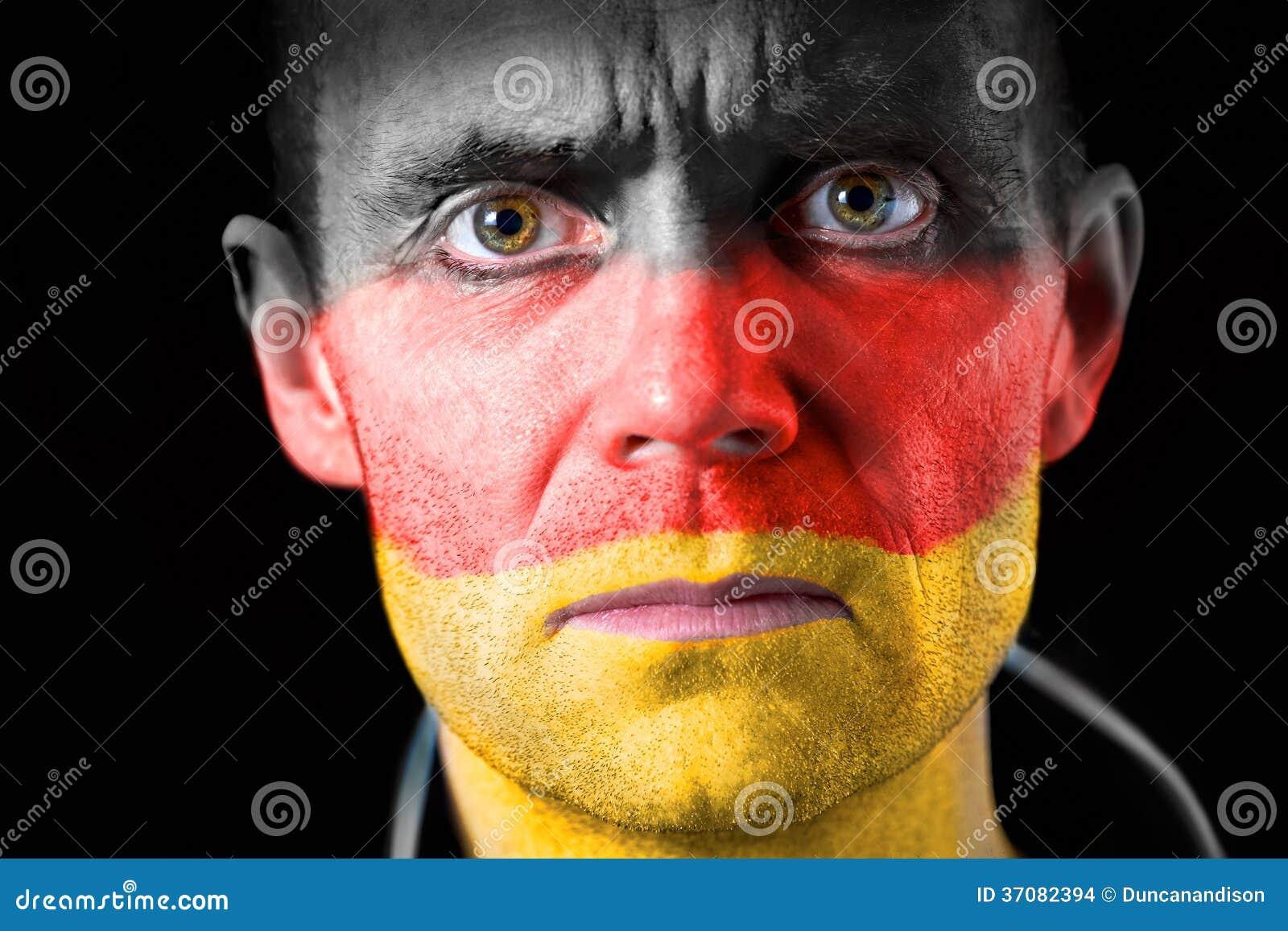 Download Fan Piłki Nożnej zdjęcie stock. Obraz złożonej z niemcy - 37082394