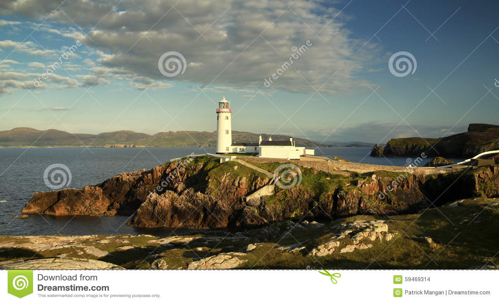Fanad fyr Co Donegal Irland