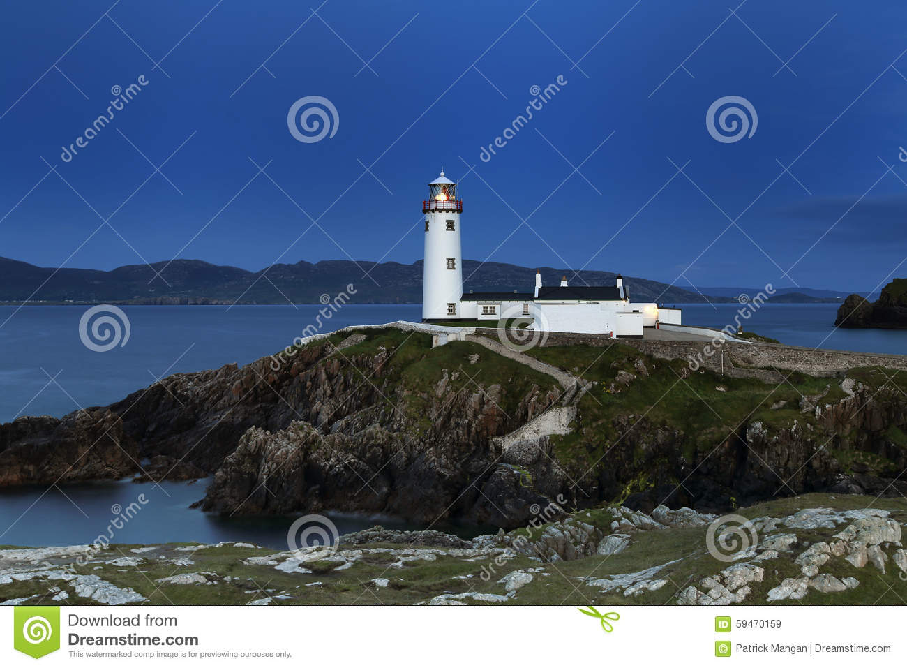 Fanad fyr Co Donegal Irland