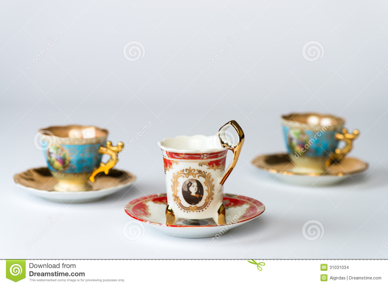 Fancy antique tea cup sets Fancy Tea Cups With Tea