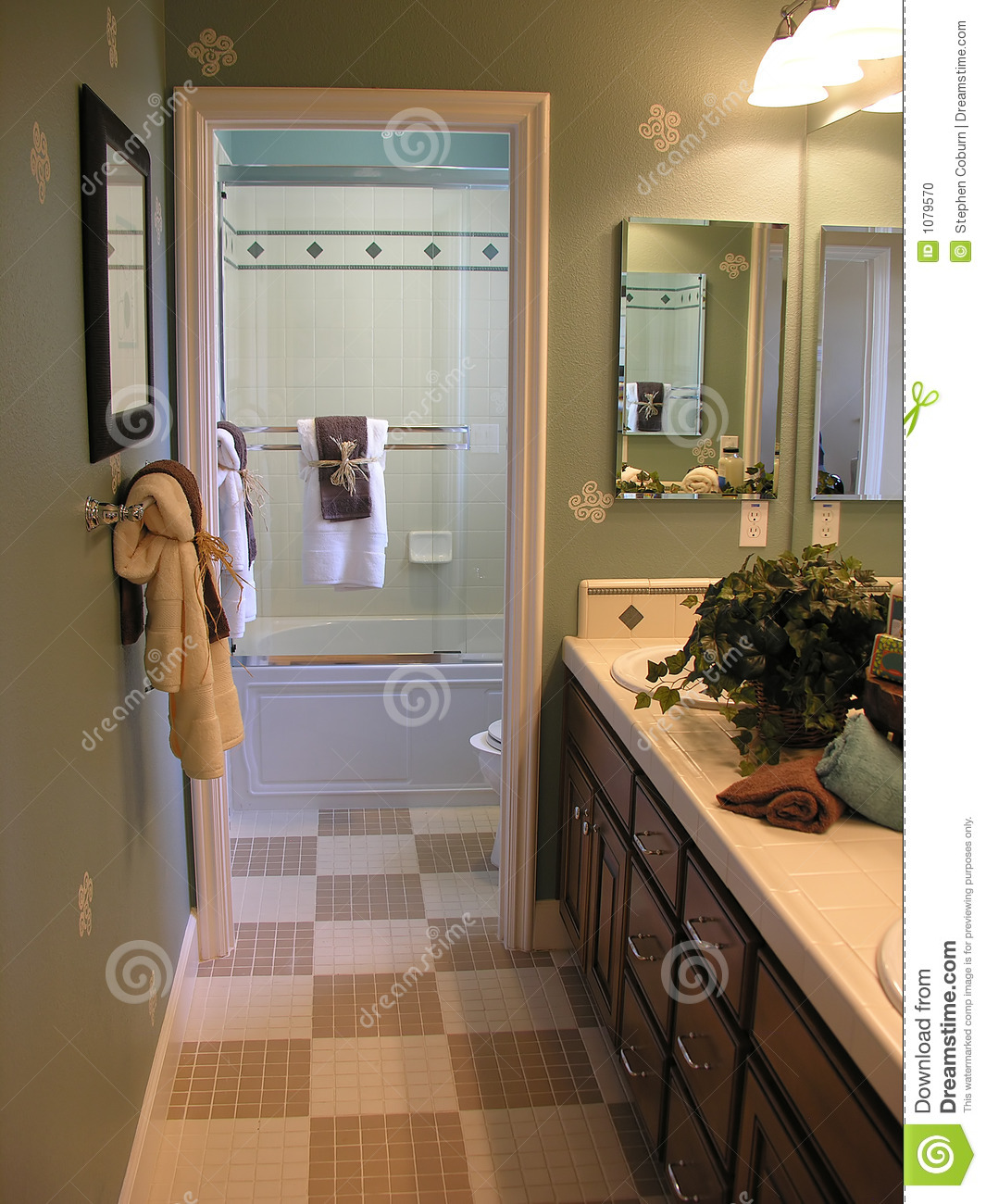 Fancy Bathroom Stock Photo Image Of Residence Motel