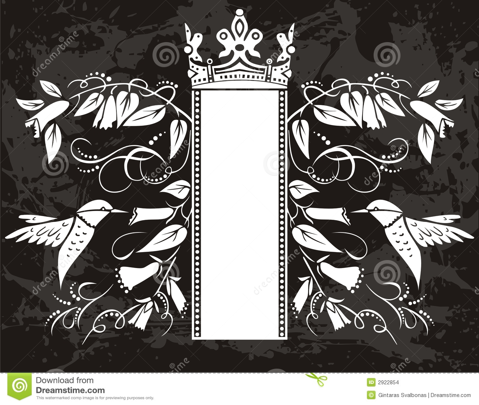black fancy background