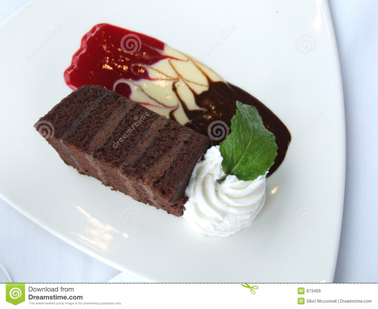 Fancy Chocolate Cake Images : Fancy Chocolate Cake stock image. Image of frosting ...