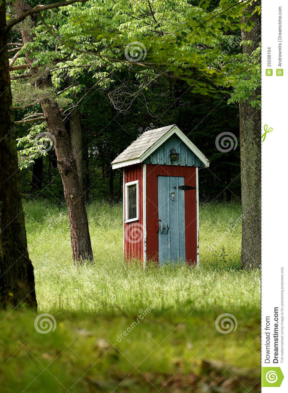 Fancy Country Outhouse Stock Images Image 25598164