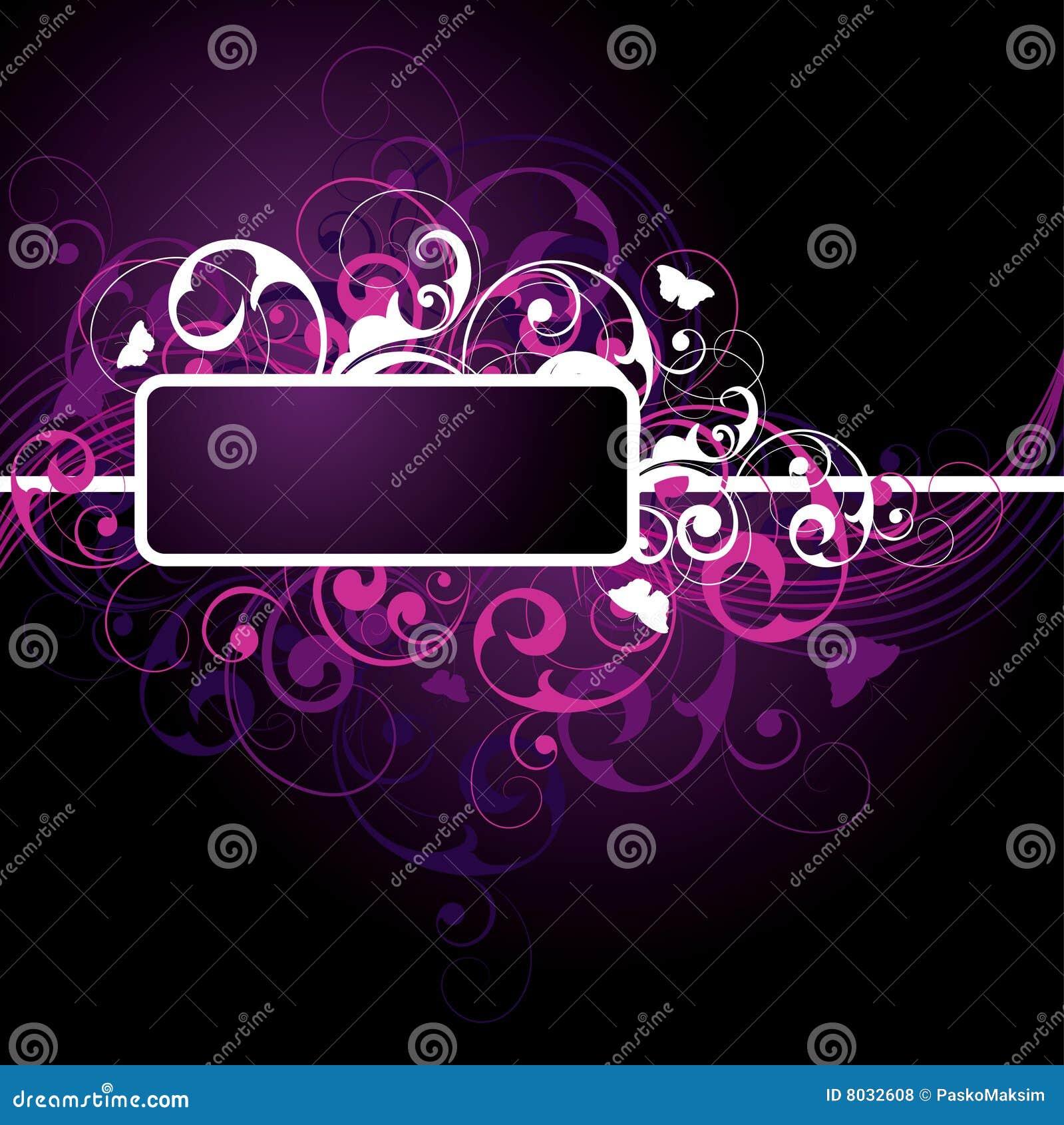 Dark Purple Background Design Fancy dark purple background