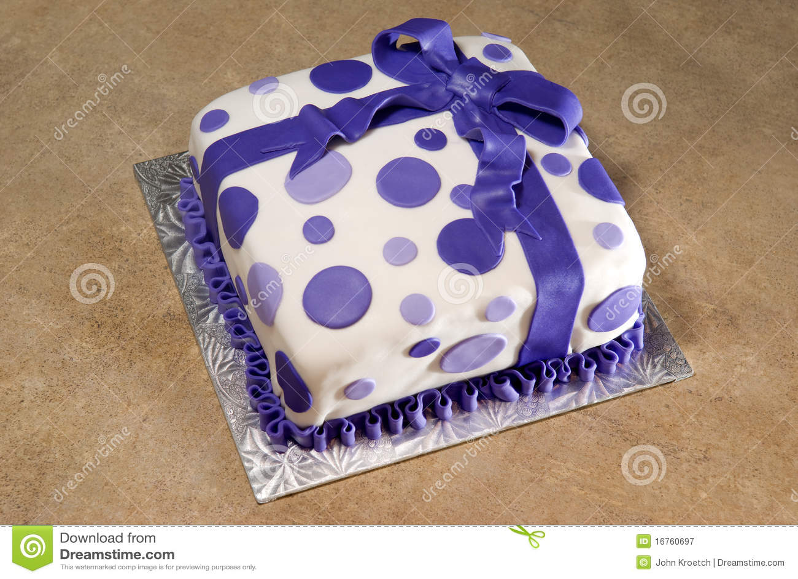 Amazing Fancy Decorated Birthday Cake Stock Image Image Of Ribbon Funny Birthday Cards Online Alyptdamsfinfo