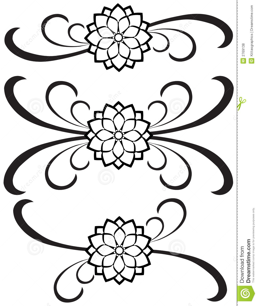 Fancy Detailed Decorations 77 Stock Vector   Illustration of