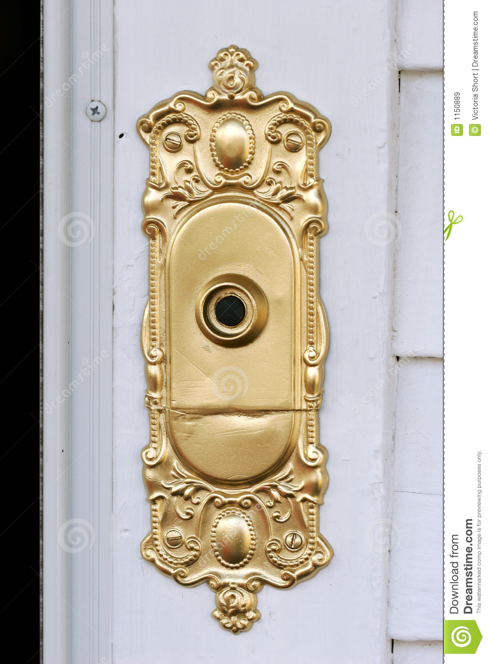Fancy Doorbell Royalty Free Stock Images Image 1150889
