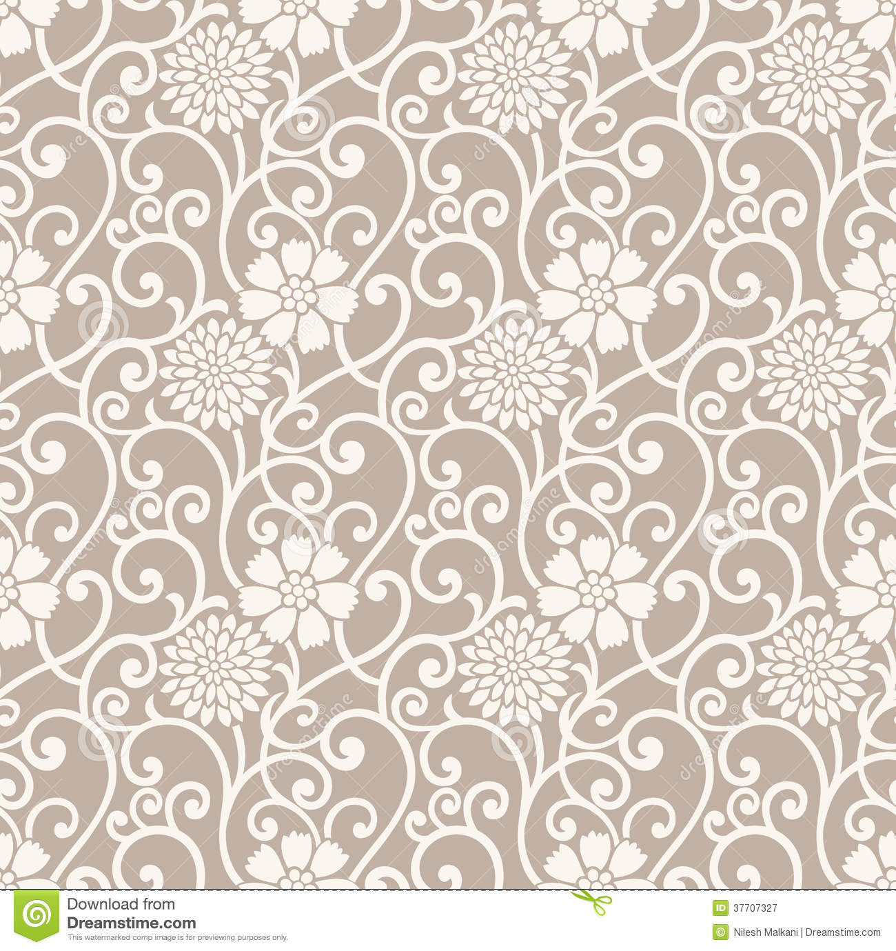 Fancy Wallpaper Fancy Floral Seamless Wallpaper Royalty Free Stock Photography