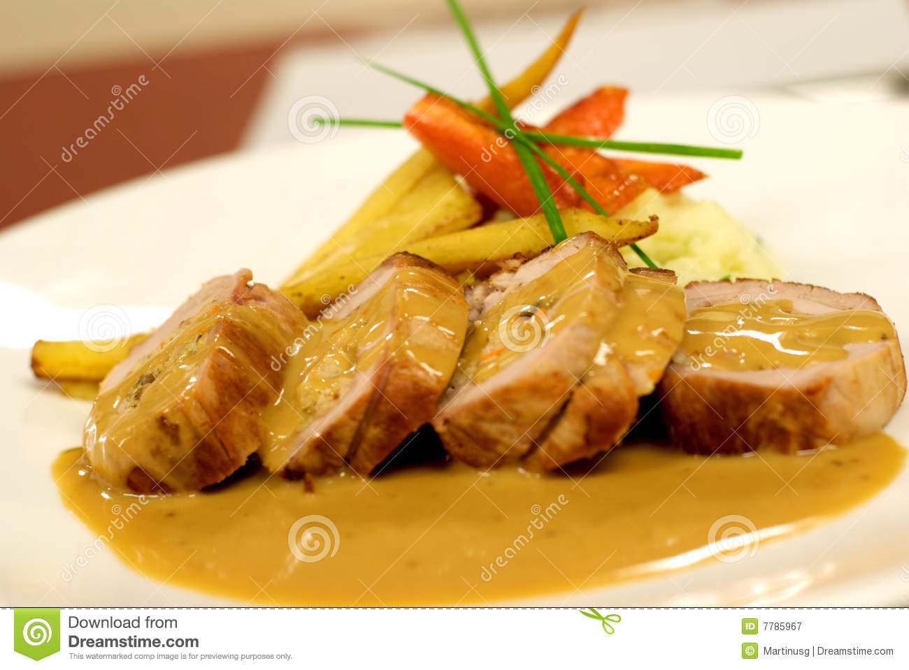 Fancy Food 1 Royalty Free Stock Photography - Image: 7785967