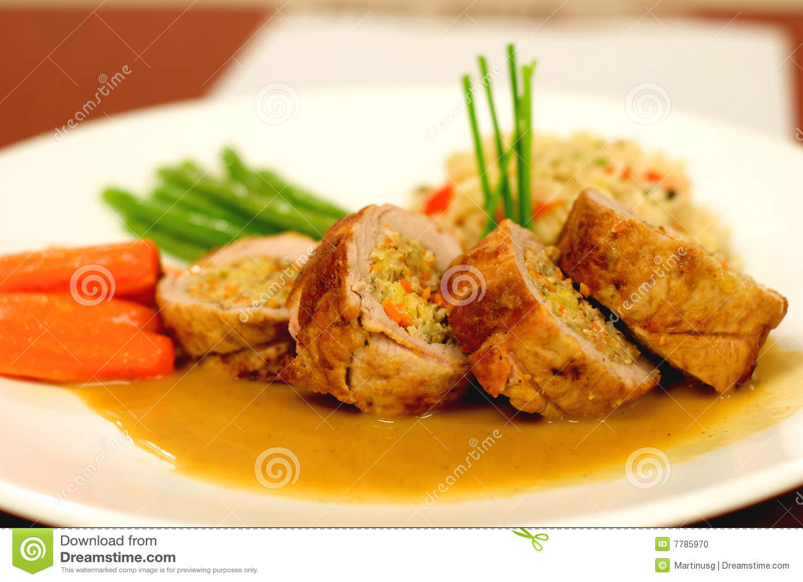 Fancy Food 2 Stock Photo - Image: 7785970