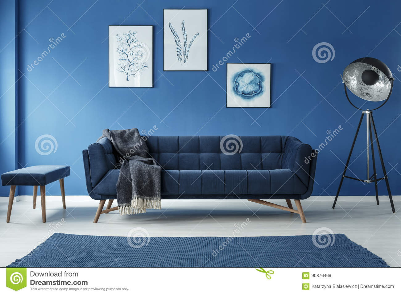 Astounding Fancy Grey Lamp Stock Image Image Of Interior Date 90876469 Inzonedesignstudio Interior Chair Design Inzonedesignstudiocom