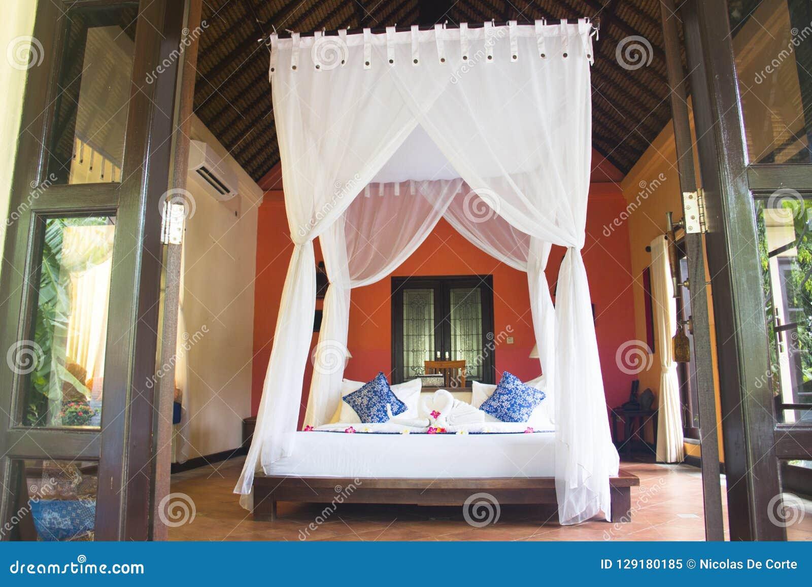 Fancy hotel room in Bali, Indonesia