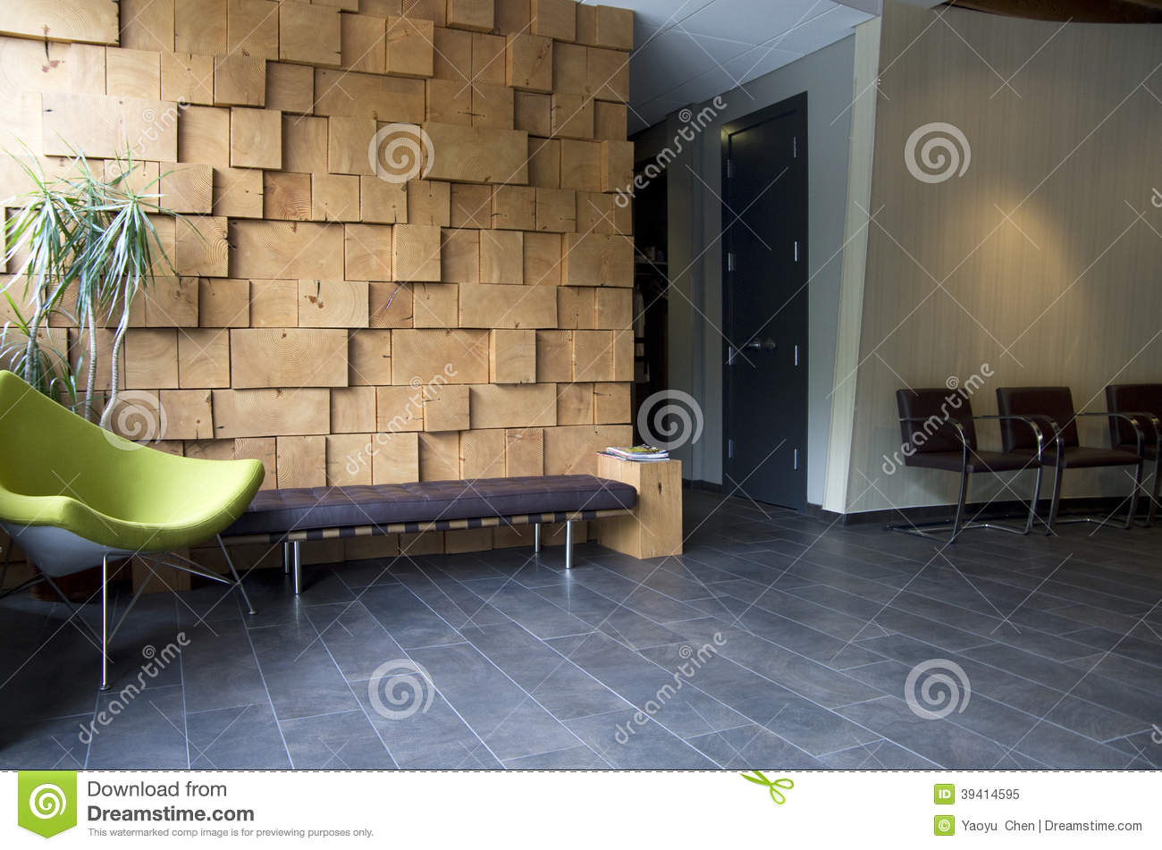 Fancy Office Waiting Room Interiors Stock Image Image