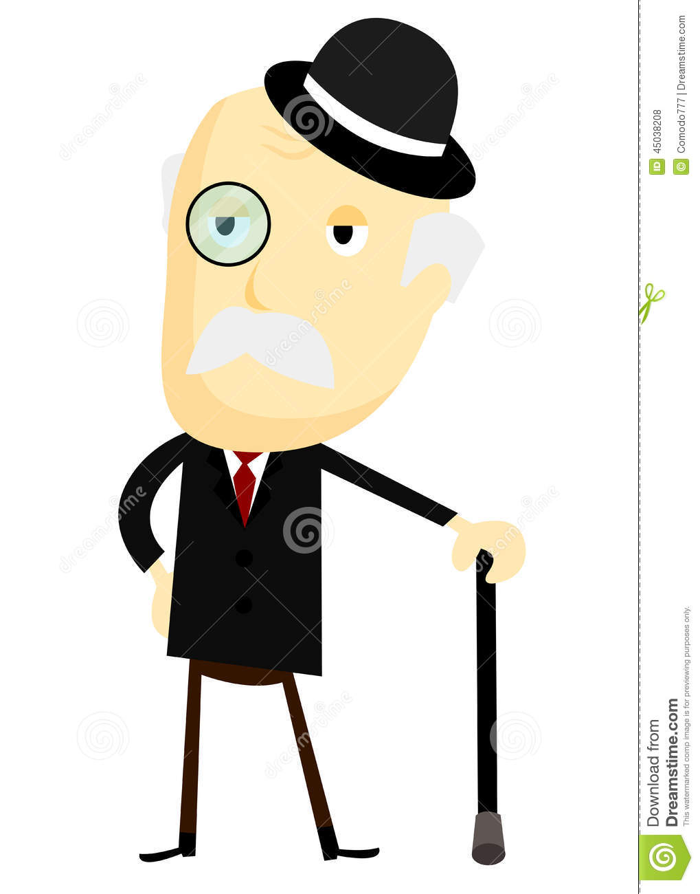 fancy old man stock vector image 45038208 uniform clipart police officer uniform clipart images