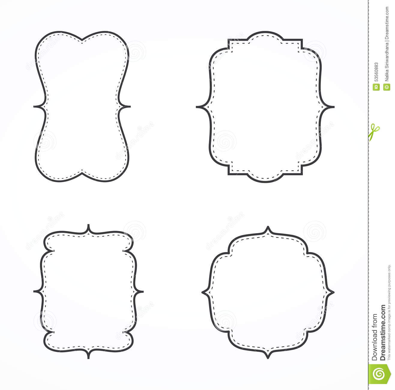 Fancy Border Cliparts  Free download best Fancy Border