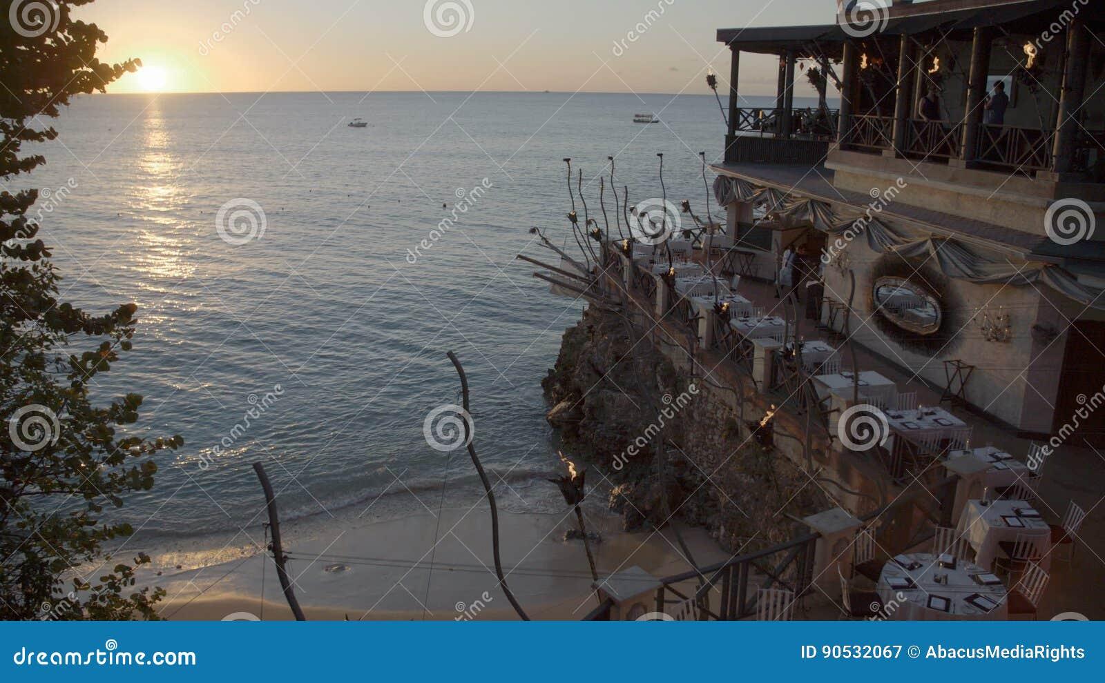 Fancy Restaurant On A Beach Stock Video Video Of Serve Dinner 90532067