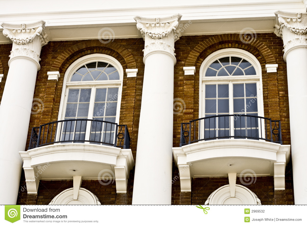 Fancy windows stock photography image 2969532 for Fancy window design