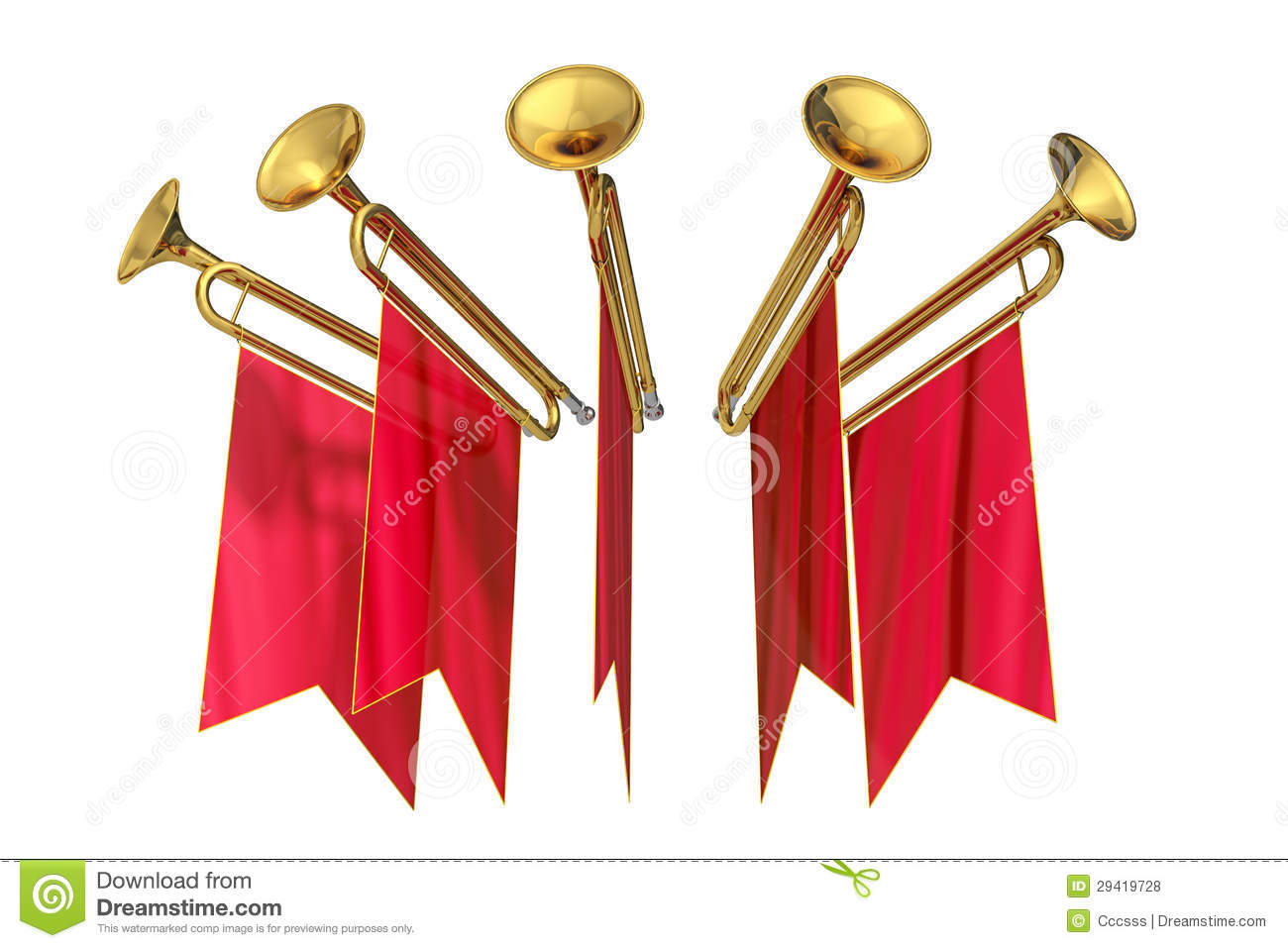 Fanfare Royalty Free Stock Photos - Image: 29419728