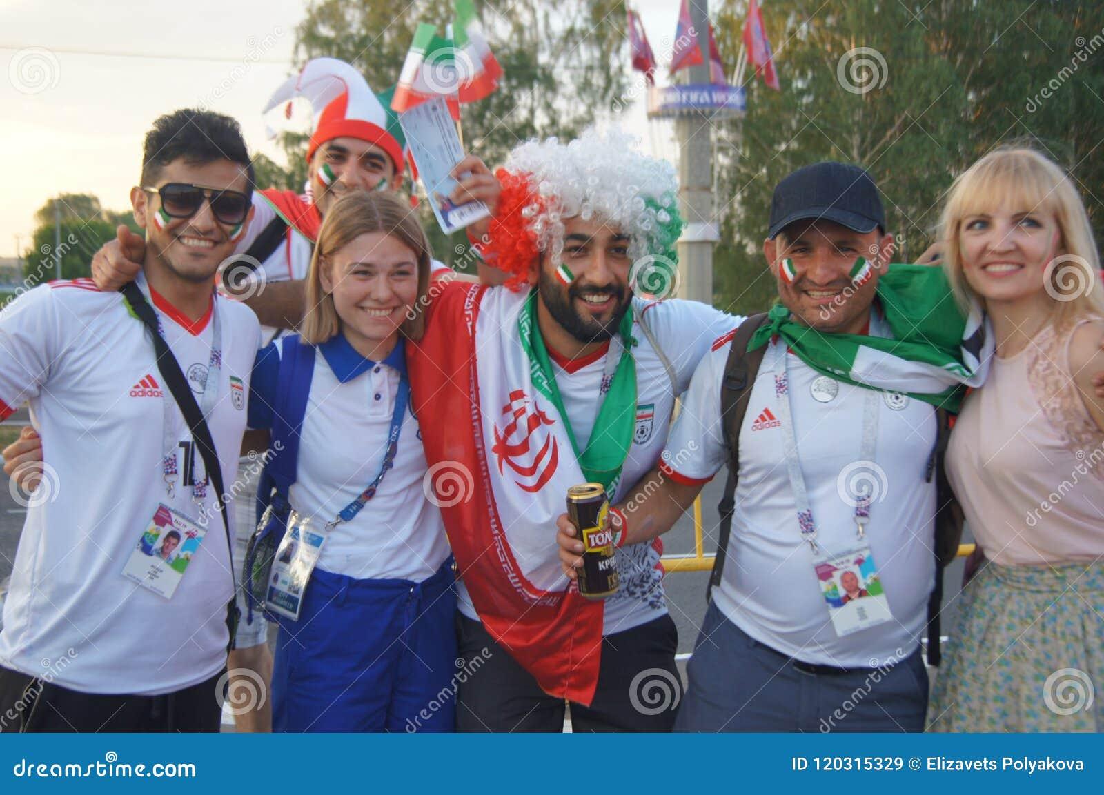 Fans av Iran fotboll