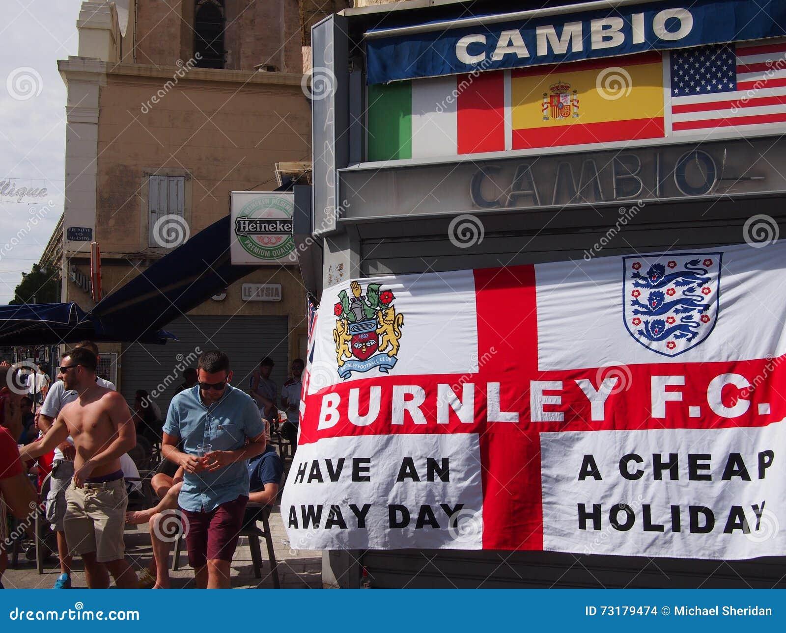 Fans de Inglaterra en Marsella