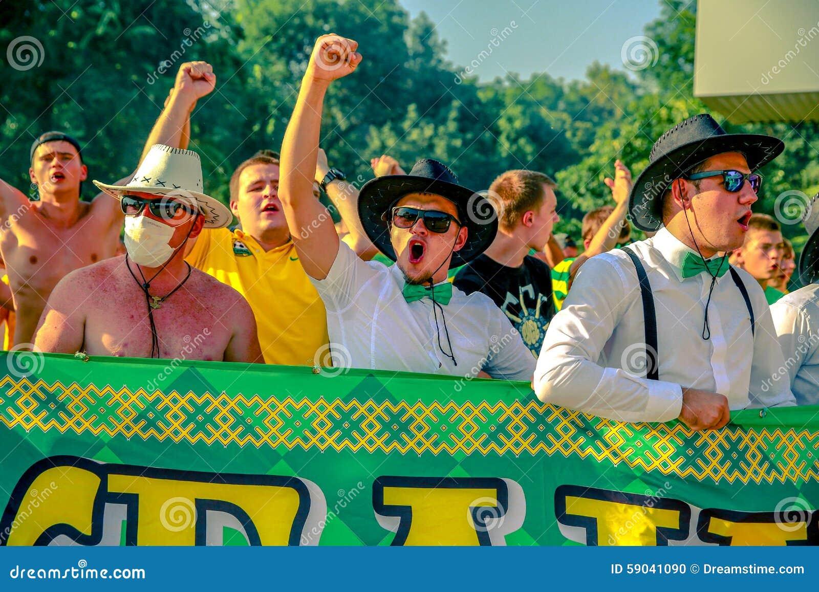 Fans Of Krasnodar Kuban Editorial Image Image Of Krasnodar 59041090