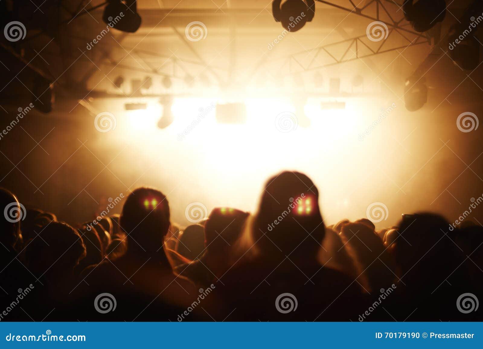 Fans på konserten