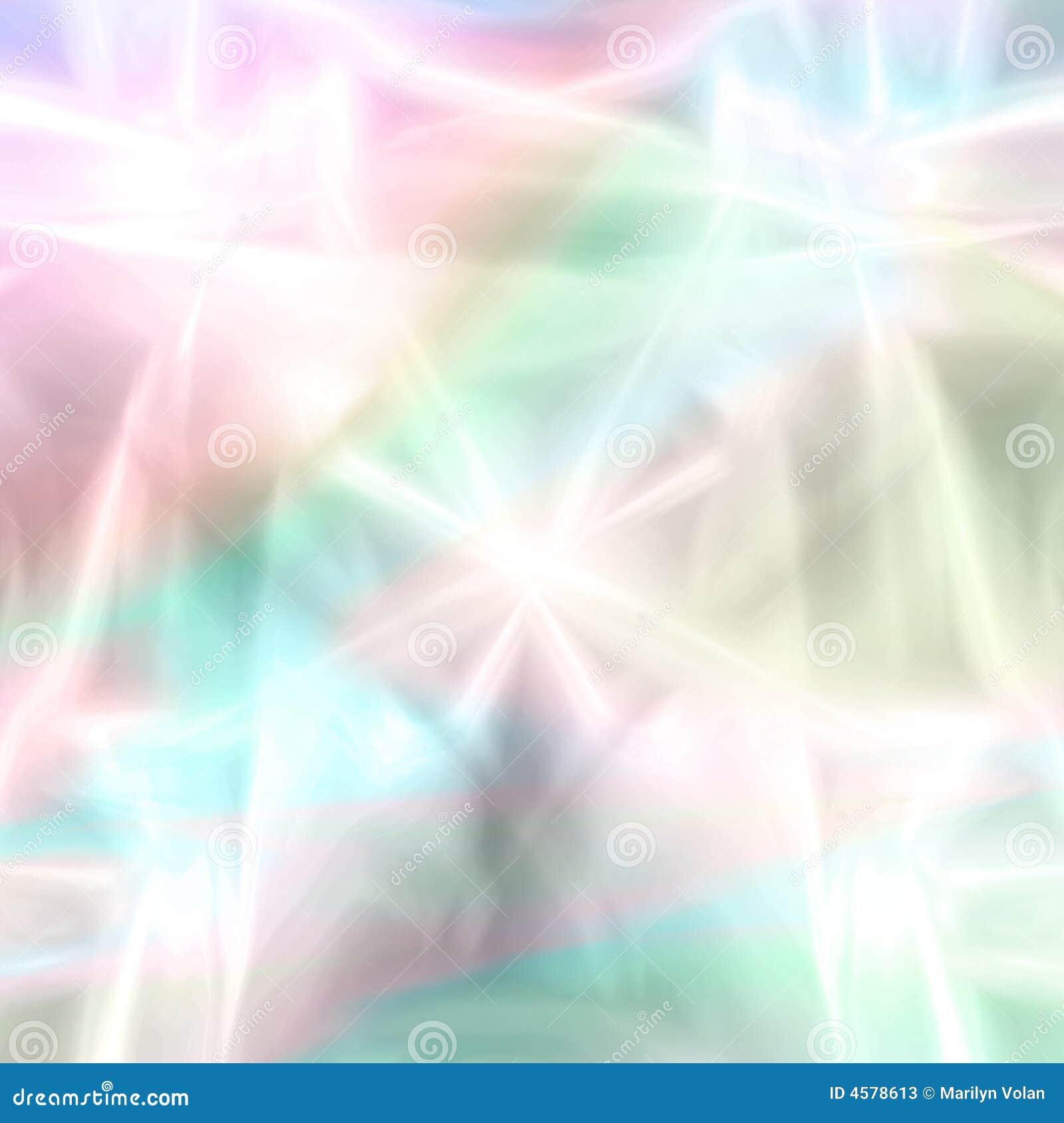 Fantasía en colores pastel de los fuegos artificiales