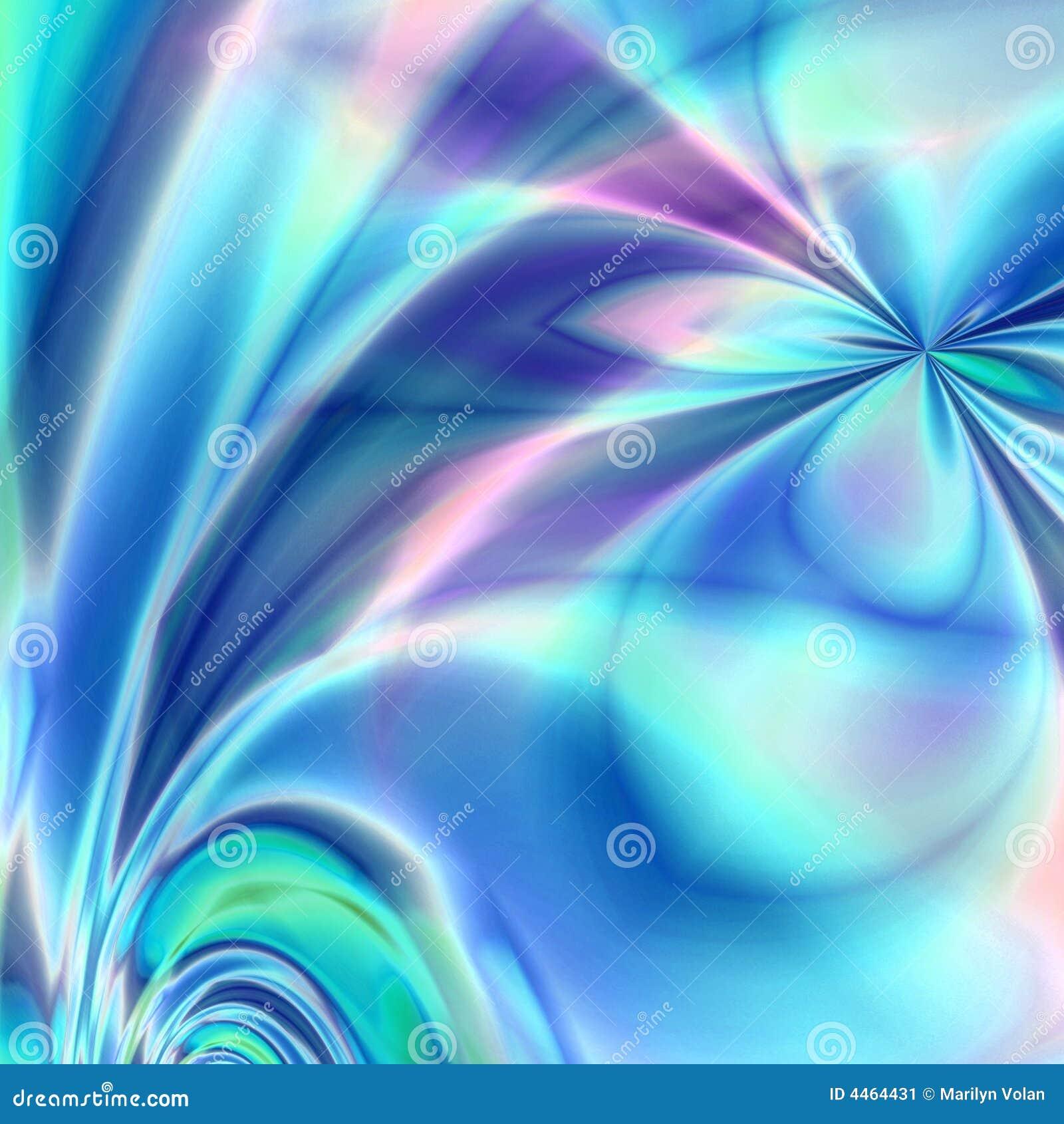 Fantasia blu del fiore immagine stock immagine 4464431 for Sfondi fantasia