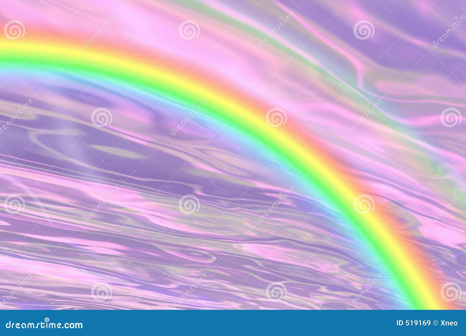 Fantasia do arco-íris!