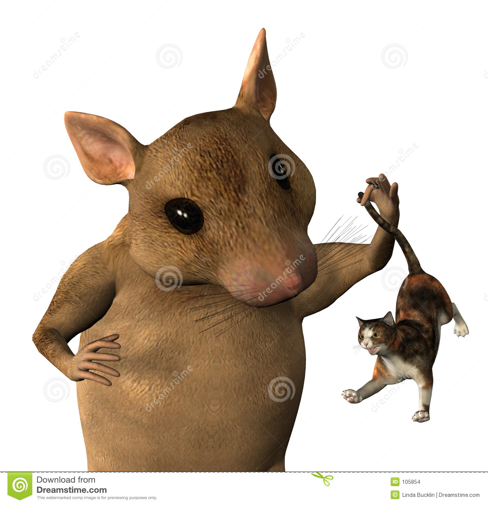 Fantasia do rato - close-cropped