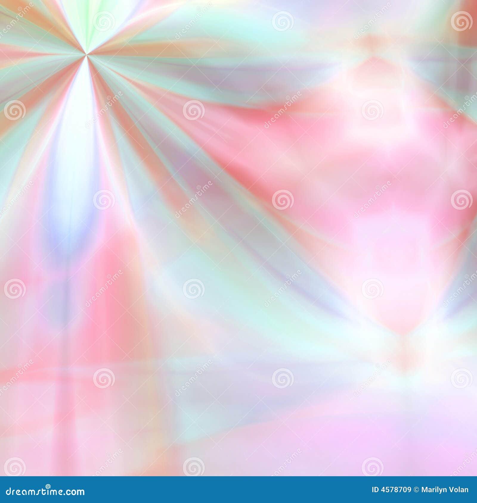 Fantasia Pastello Del Fiore Illustrazione Di Stock