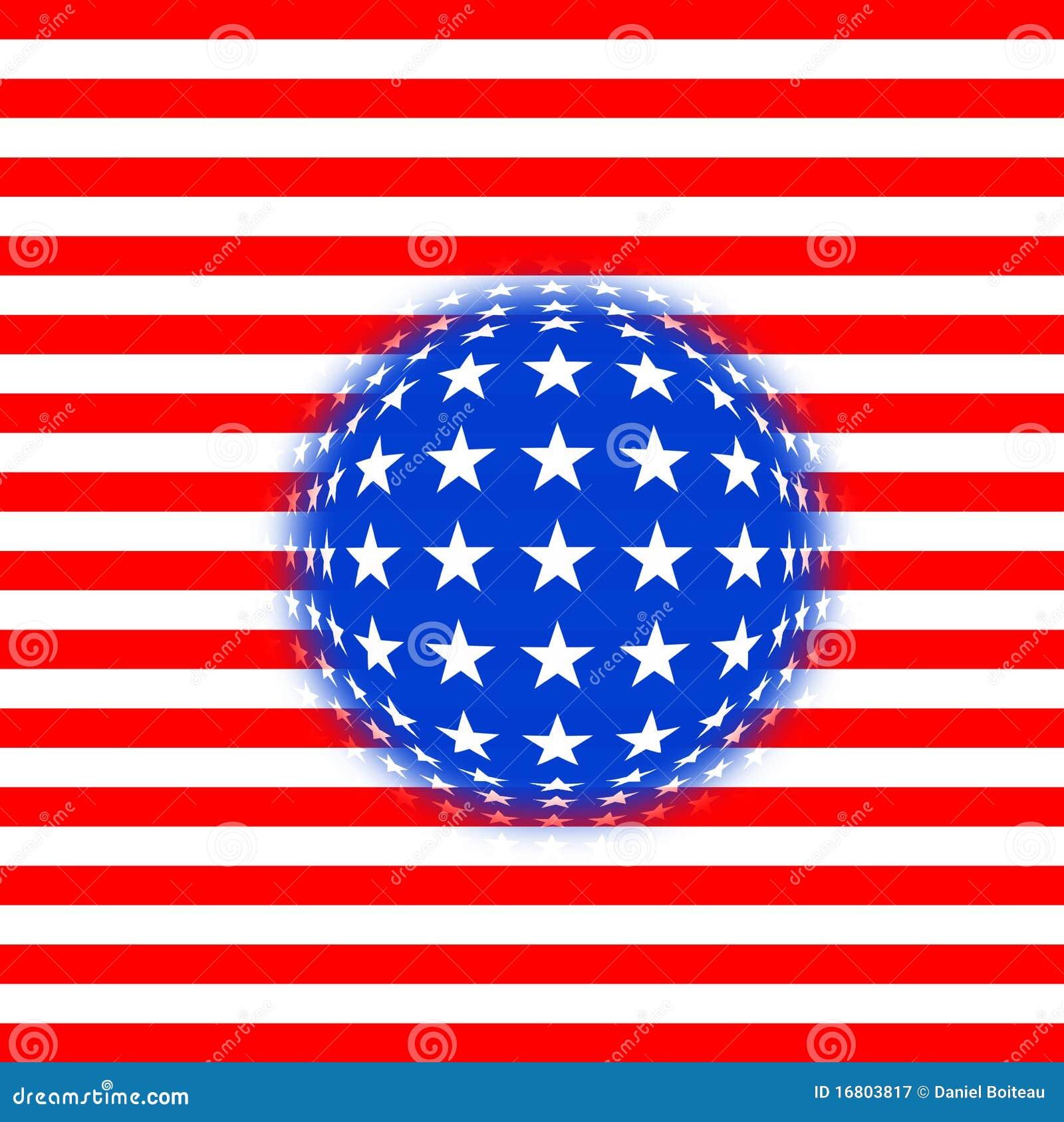 Fantasiflagga USA