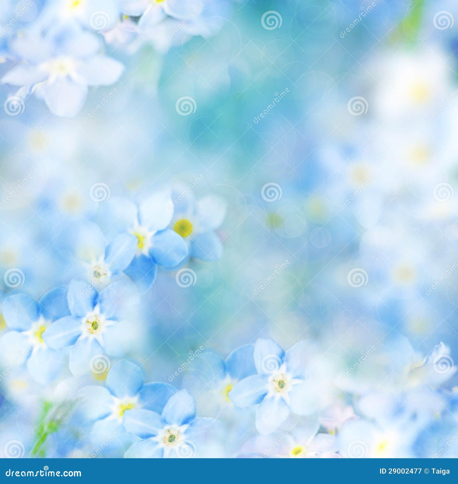Fantasin stillar blom- Defocused bakgrunds-/blåttblommor