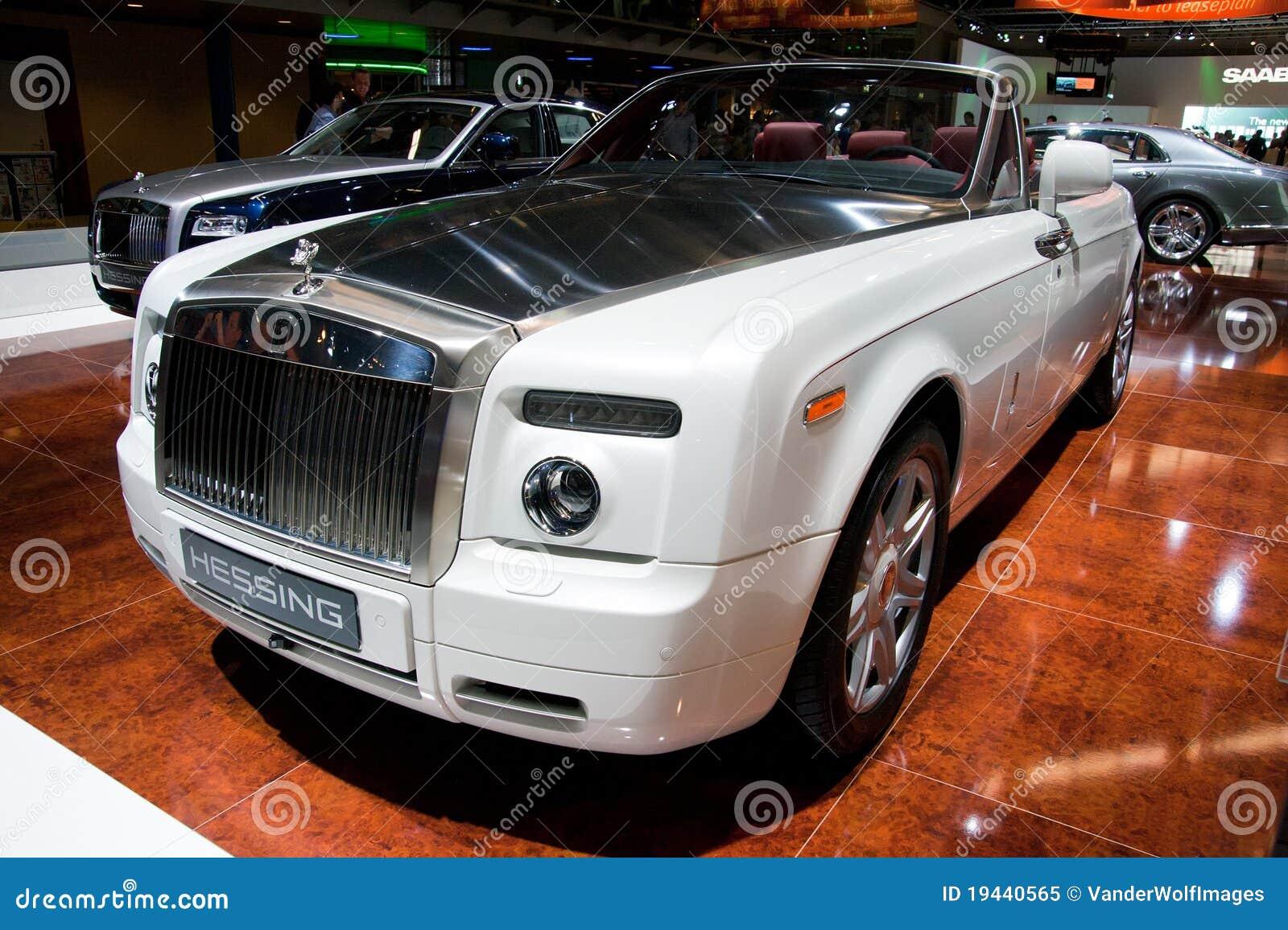 Fantasma Drophead Coupé de Rolls royce