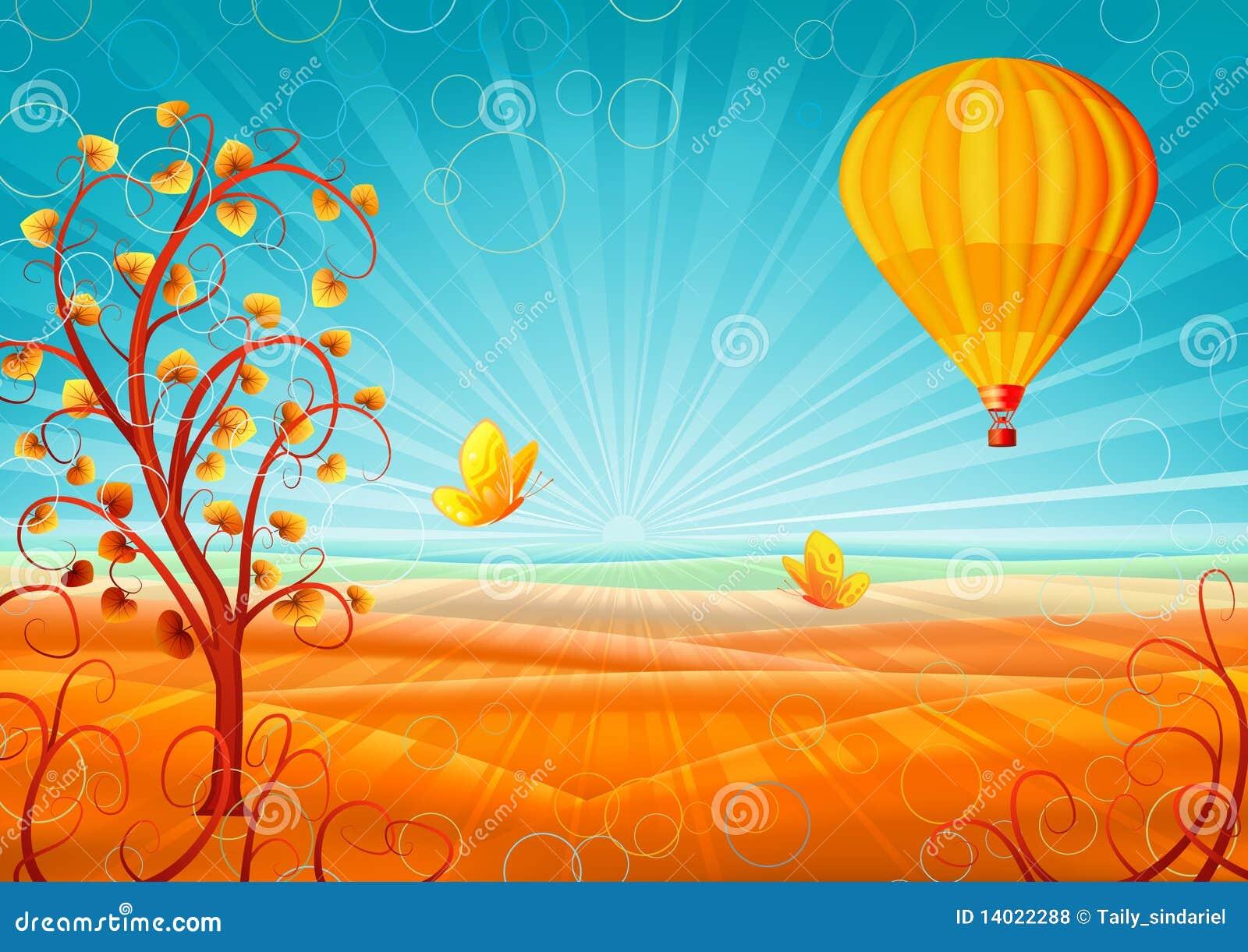 Inspirational Fantastic Autumn Balloon hot air balloon